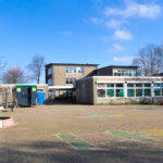Ansicht vom Schulhof